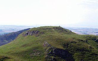 Dunsinane Hill - Dunsinane Hill from Black Hill.