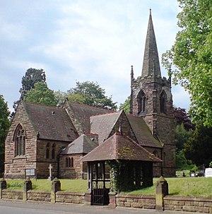 Dunston, Staffordshire - Dunston St Leonard's church, May 2008