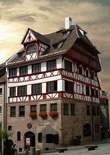 La casa di Dürer a Norimberga