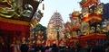 Durga Puja Pandal - Tridhara Sammilani - Manohar Pukur Road - Kolkata 2014-10-02 9022-9023.TIF