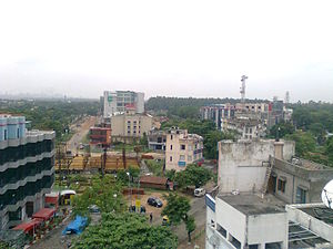 Durgapur City Centre aerial view.jpg