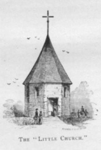 Voorleser - Dutch church in Old Bergen Township, 1680.