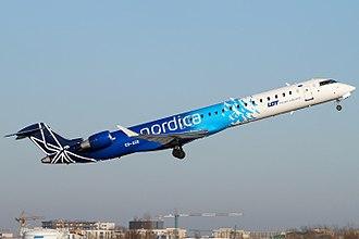 Nordica (airline) - Nordica Bombardier CRJ900