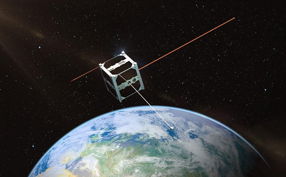 ESTCube orbiidil 2