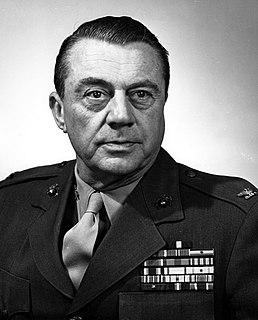 Earl S. Piper American Marine Corps Major General
