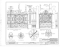Early Iron Work, Mobile, Mobile County, AL HABS ALA,49-MOBI,230- (sheet 3 of 6).png
