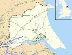 Mapa lokalizacyjna East Riding of Yorkshire