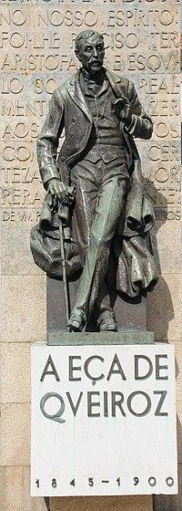Estátua na Póvoa de Varzim
