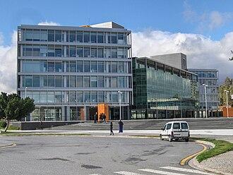 Andalusia Technology Park - Image: Edificio Alei front