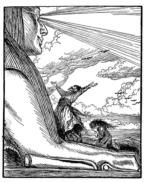 Fichier:Edmund J Sullivan Illustrations to The Rubaiyat of Omar Khayyam First Version Quatrain-032.jpg