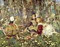 Edward Atkinson Hornel - The Music Of The Woods 1906.jpg