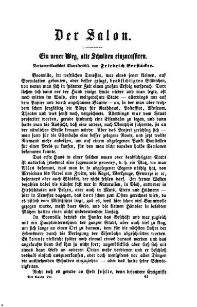 File:Ein neuer Weg, alte Schulden einzucassiren-Gerstaecker-1870.djvu