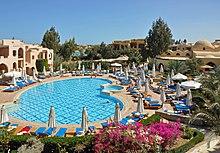 El Gouna Bellevue Beach Hotel Karte