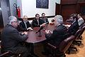 El presidente de la Asamblea Nacional, Fernando Cordero Cueva, recibió la visita de Diego García Sayán, Leonardo Franco y Pablo Saavedra, presidente, vicepresidente y secretario de la Corte (5188018254).jpg