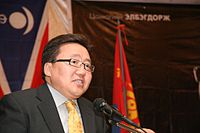 Image illustrative de l'article Président de Mongolie