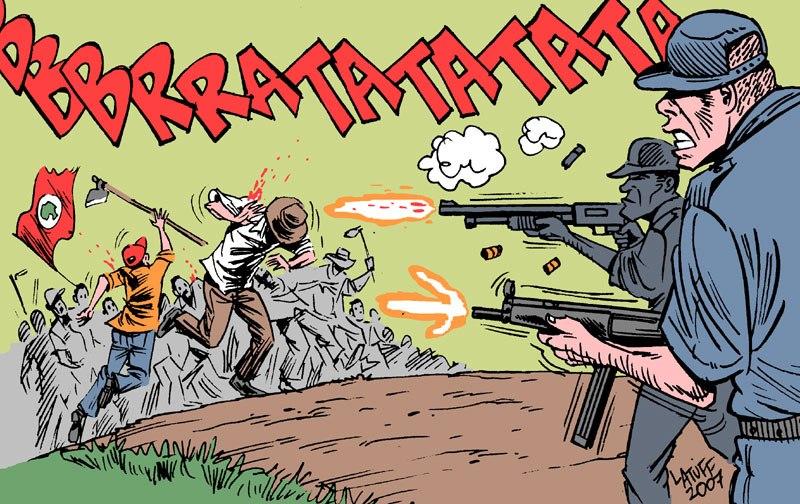 Eldorado dos Carajas massacre by Latuff2