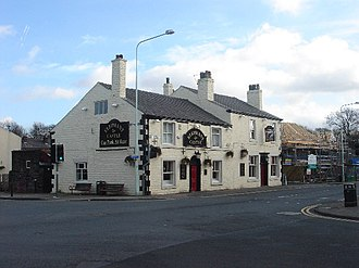 Adlington, Lancashire - Image: Elephant and Castle, Adlington geograph.org.uk 122912