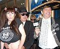 Elizabeth Starr, Nasty Boyz, James Bartholet at Halloween Party 1.jpg