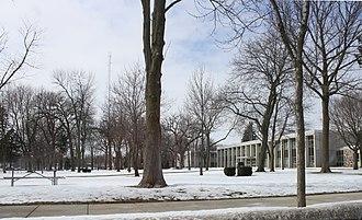 Elkhorn, Wisconsin - Image: Elkhorn Wisconsin Town Square