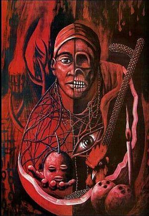 Elegua - A Depiction Of The Orisha, Ellegua.