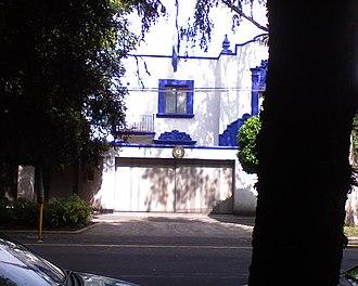 El Salvador–Mexico relations - Image: Embassy of El Salvador in Mex. city