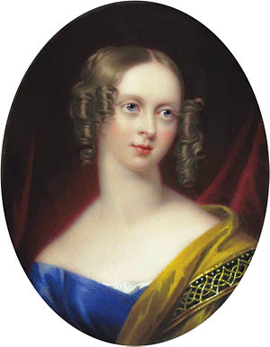 William Craven, 2nd Earl of Craven - Emily Mary, Countess of Craven, née Grimston, (Henry Pierce Bone)