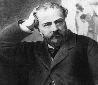 Emmanuel Chabrier - Emmanuel Chabrier in 1882