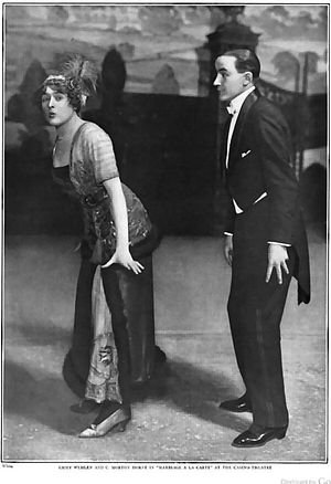 C. Morton Horne - Horne with Emmy Wehlen in Marriage a la Carte