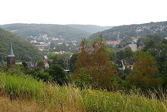 Ennepe-Ruhr-Kreis - Image: Ennepetal.Milspe