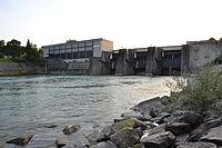 Enns Kraftwerk Garsten unterwasserseitig.JPG