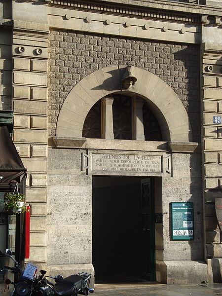 Fichier:Entrée Arènes de Lutèce - Monge.JPG