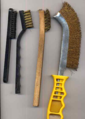 Equipment Scott Semans uses to clean Cash Coins 01.png