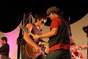DecembeRadio - Eric Miker and Brian Bunn performing at Southeastern University in Lakeland, Florida, on January 9, 2008.
