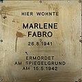 Erinnerungsstein für Marlene Fabro.jpg