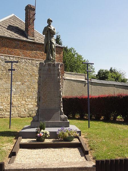 Erlon (Aisne) monument aux morts