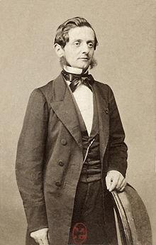 Ernest Pinard en 1860.