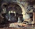 Ernst Erwin Oehme - Blick in eine verfallene Kapelle.jpg