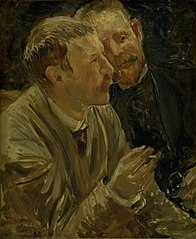 Portrait of the Painters Bruno Liljefors and Alf Wallander
