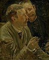 Ernst Josephson - Portrait of the Painters Bruno Liljefors and Alf Wallander - KMS3642a - Statens Museum for Kunst.jpg