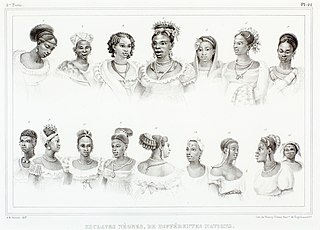 Esclaves nègres, de diffèrentes nations