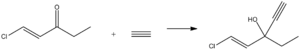 Ethchlorvynol - Image: Ethchlorvynol synthesis