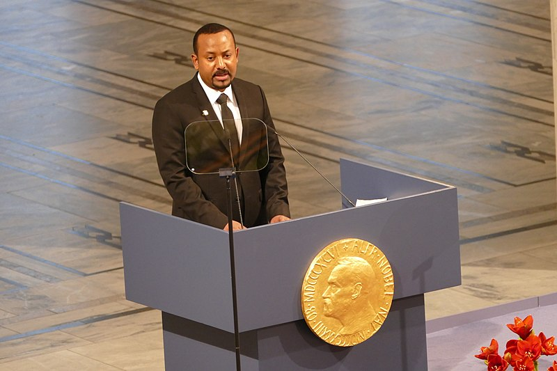 File:Ethiopian Prime Minister Abiy Ahmed receiving the Nobel Peace Prize in Oslo 2019.jpg