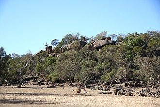 Eugowra - Image: Eugowra Rocks, Eugowra NSW