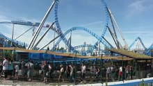 Datei:Europa-Park - Blue Fire Megacoaster (36).ogv