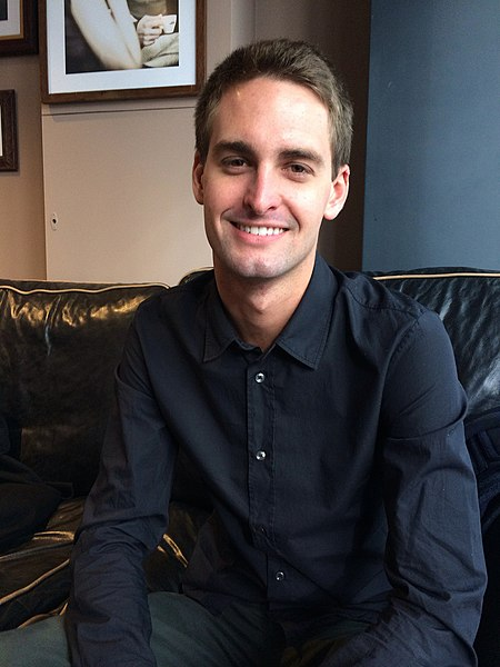 File:Evan Spiegel, founder of Snapchat.jpg