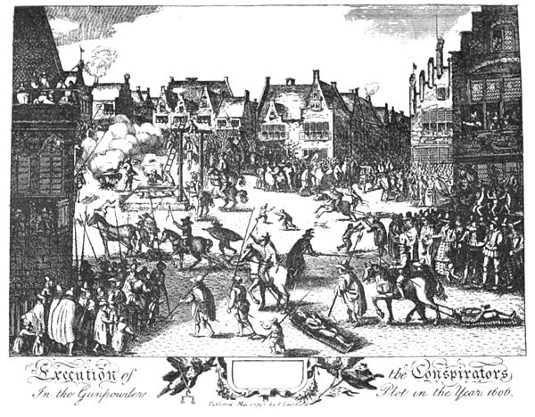 Execution of conspirators