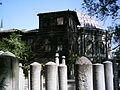 Eyüp Sultan Camii yanında bulunan mezarlık ve ahşap ev.JPG