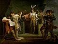 Füssli - 'Henry V', Act II, Scene 2, Henry V Discovering the Conspirators (from the Boydell series), 1780s.jpg