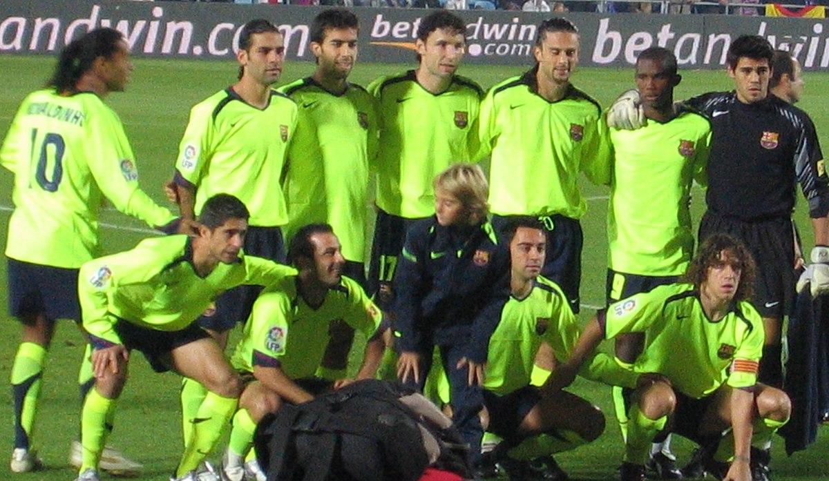 Futbol Club Barcelona 2005-2006 - Wikipedia