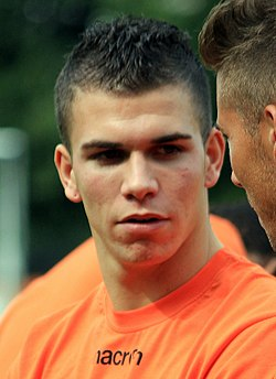 FC Lorient - June 27th 2013 training - Raphaël Guerreiro crop.JPG